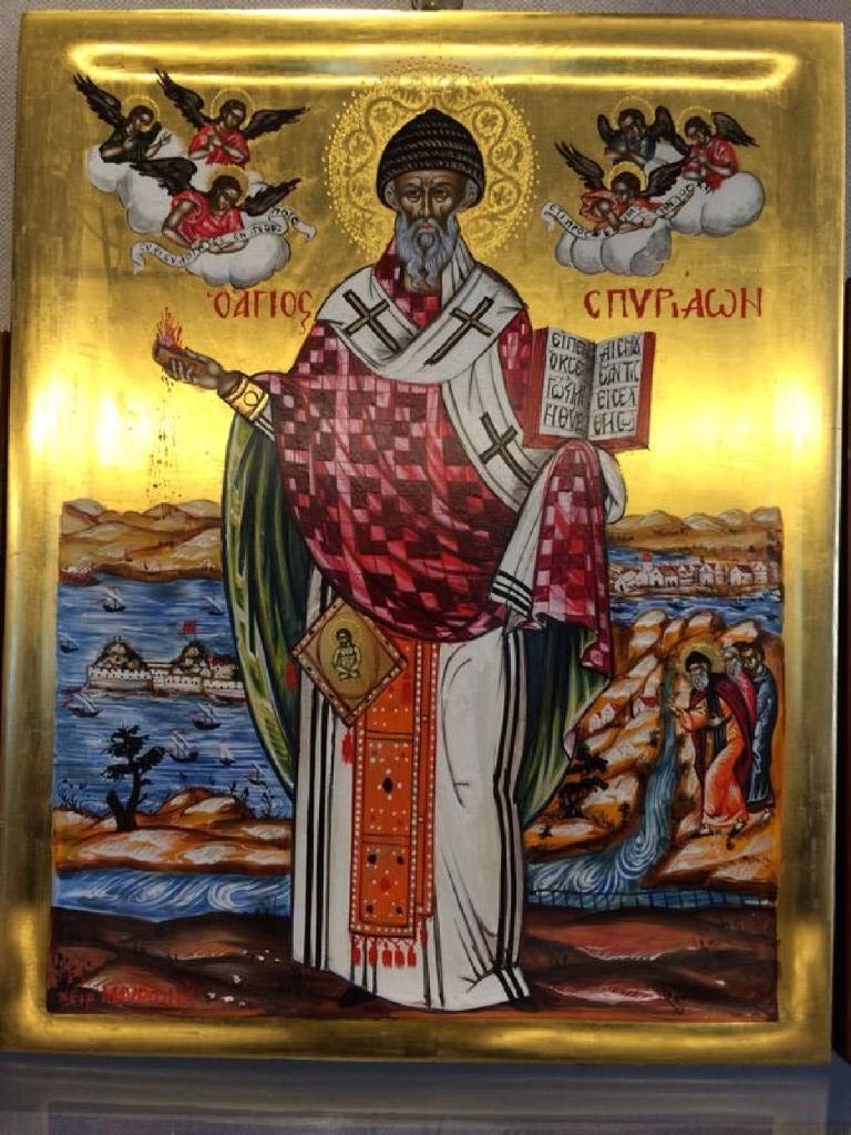Картинки святитель спиридон тримифунтский чудотворец с праздником дело, что